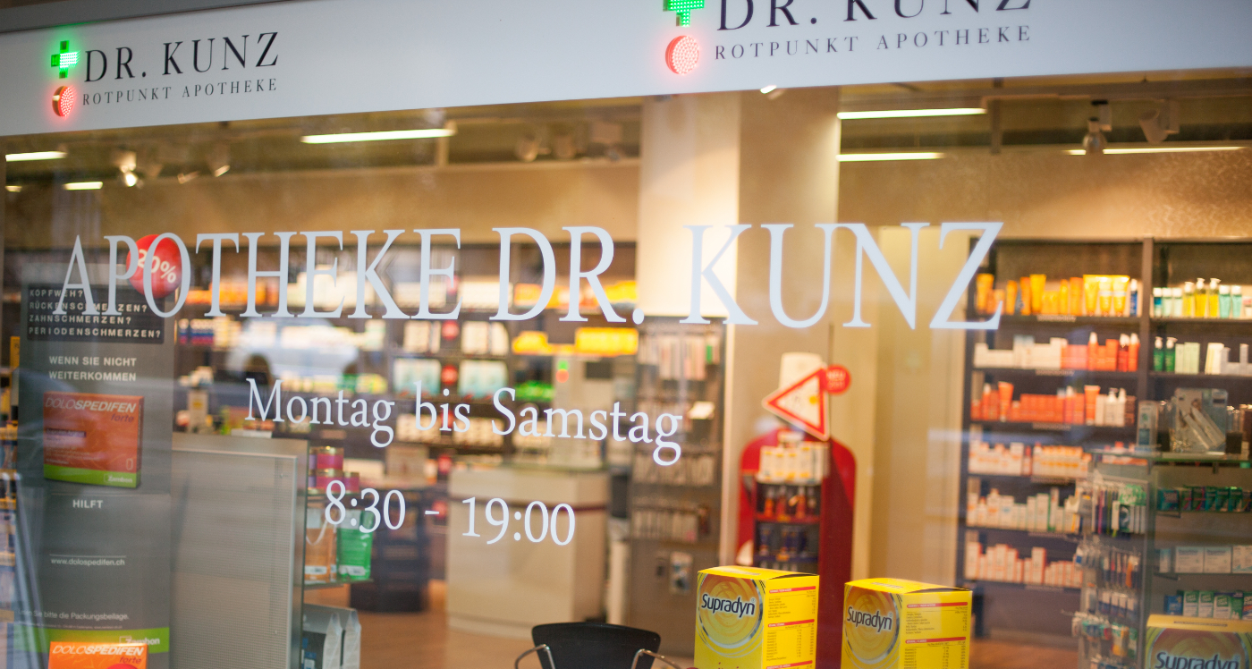 Apotheke Dr. Kunz - Baden von aussen