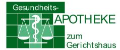 Apotheke zum Gerichtshaus Logo