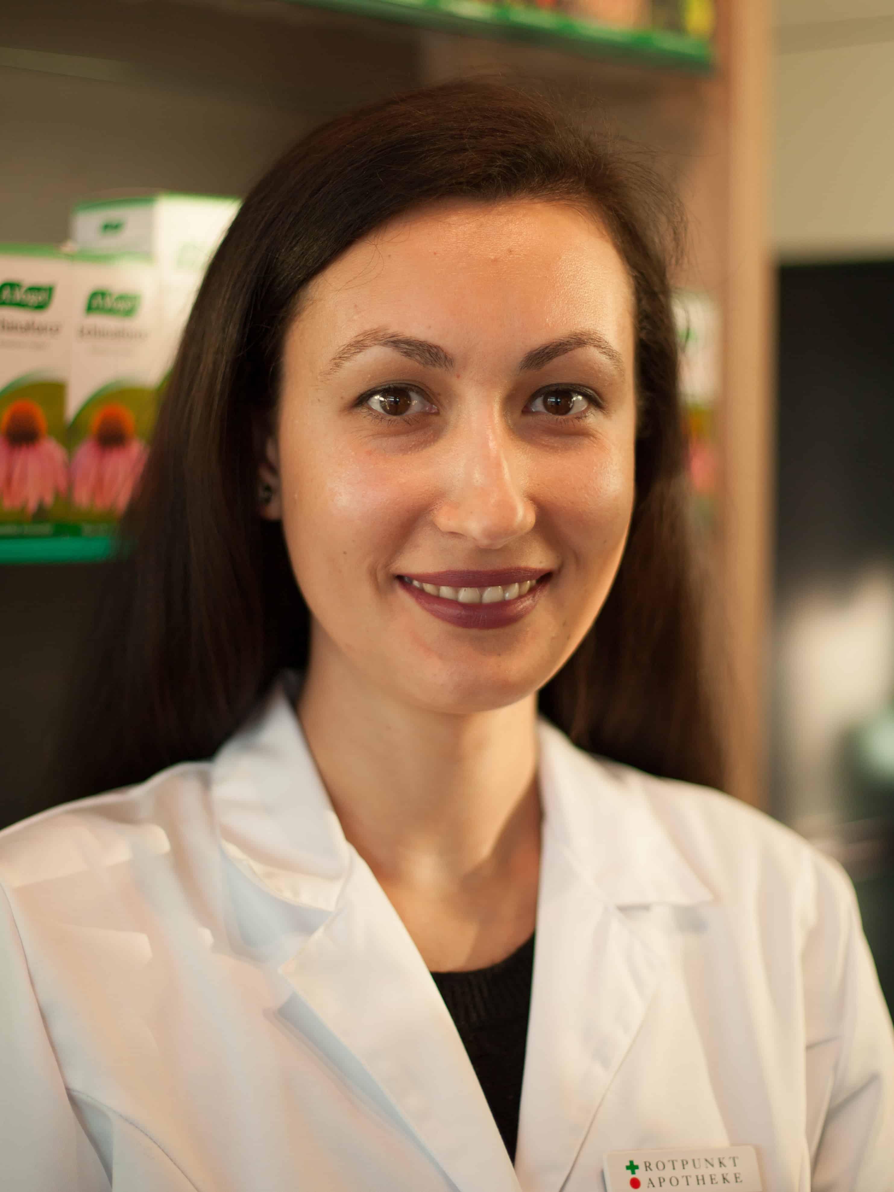 Kirilka Gutleben - Apotheke Dr. Kunz Schlieren
