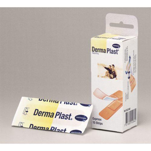 Dermaplast Textil Express Strips 19X72Mm 15 Stk