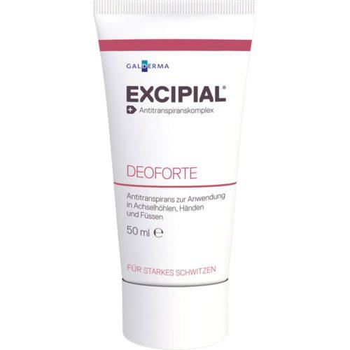 Excipial Deoforte Antiperspirans Creme Tb 50 G
