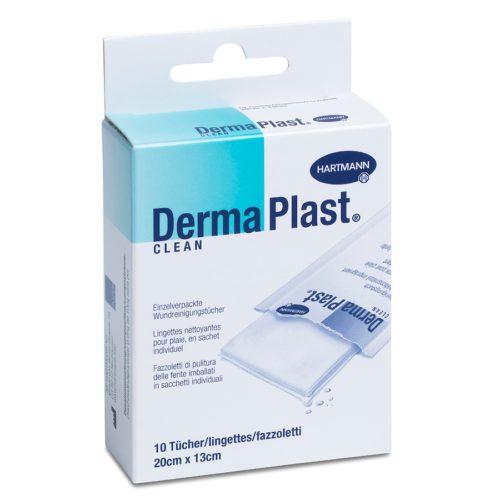 Dermaplast Clean Wundreinigungstuch 20X13Cm 10 Btl
