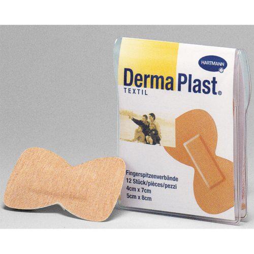 Dermaplast Textil Fingerspitzenverb 5Cmx6Cm 12 Stk