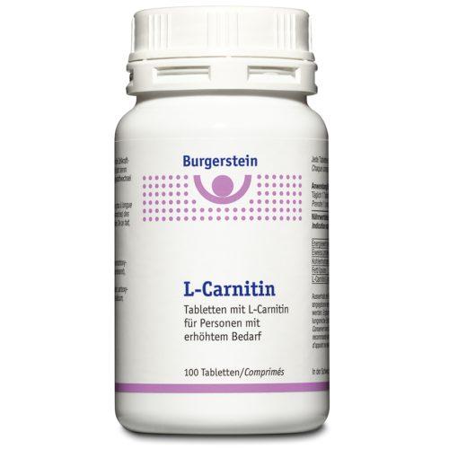 Burgerstein L-Carnitin Tabl Ds 100 Stk