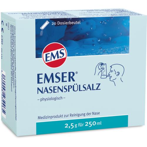 Emser Nasenspuelsalz 20 Btl 2.5 G