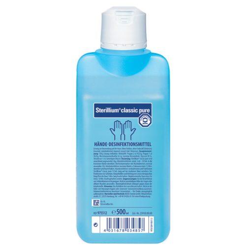 Sterillium Classic Pure Haendedesinfekt Liq 500 Ml