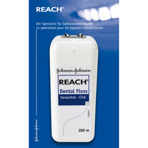 Reach Zahnseide 200M Gewachst