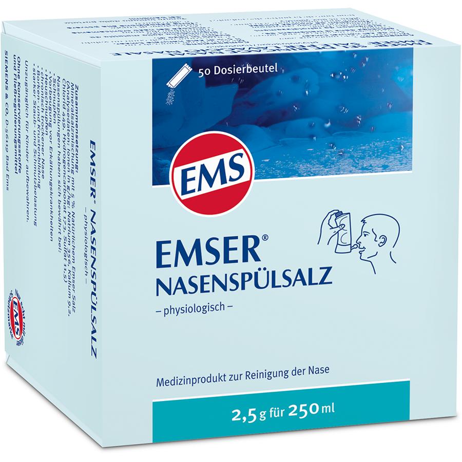 Emser Nasenspuelsalz 50 Btl 2.5 G