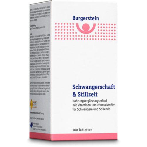 Burgerstein Schwangerschaft und Stillzeit Tabl 100 Stk