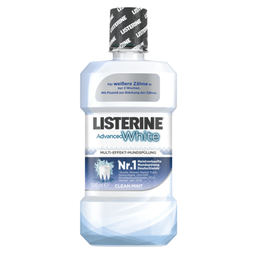 LISTERINE MUNDSPUELUNG ADVANCED WHITE FL 500 ML