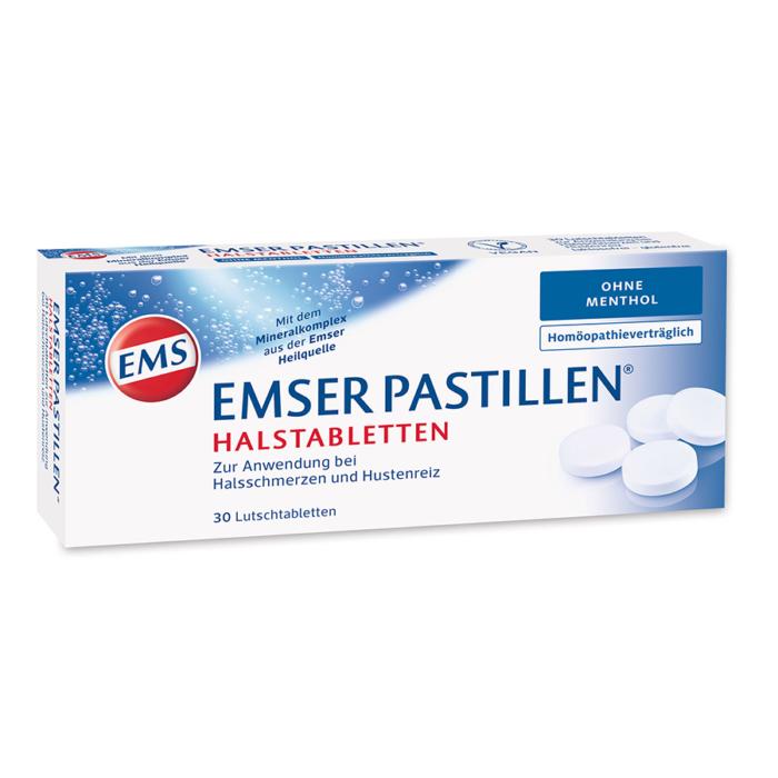 EMSER PASTILLEN OHNE MENTHOL 30 STK
