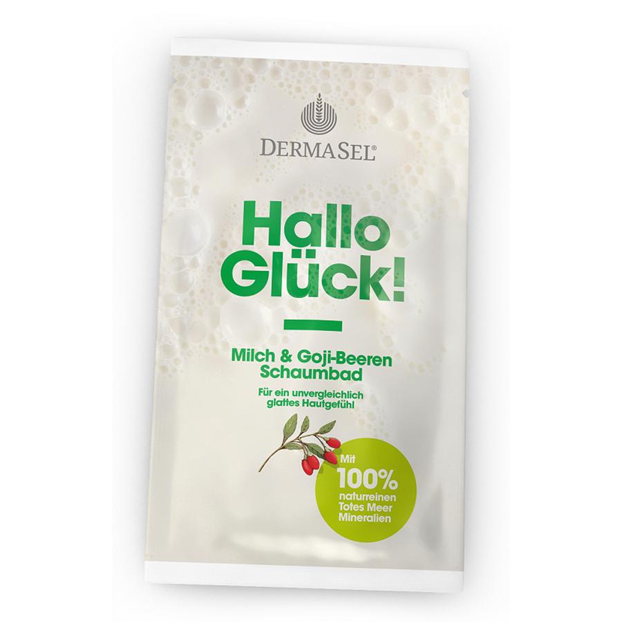 Dermasel Milchschaumbad Hallo Glueck Le 40 Ml