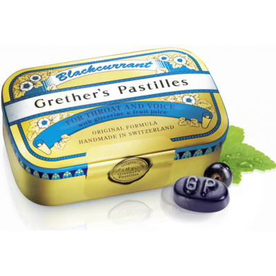 GRETHERS BLACKCURRANT PAST DS 110 G