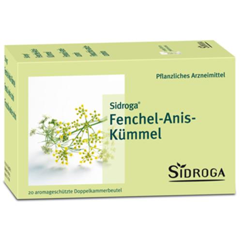 Sidroga Fenchel Anis Kümmel Btl 20 Stk
