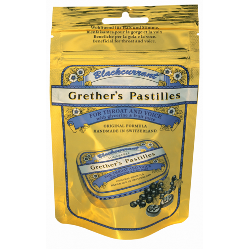 Grethers Blackcurrant Past Ref Btl 100 G
