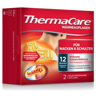 Thermacare Nacken Schulter Armauflage 2 Stk