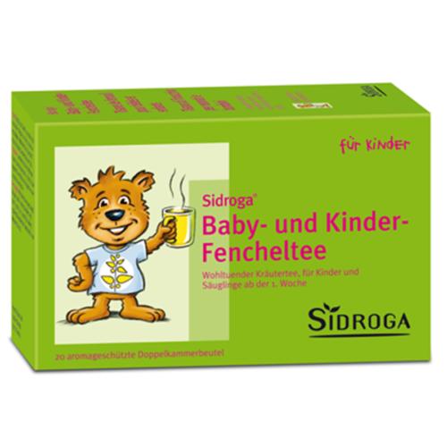 Sidroga Baby- und Kinder-Fencheltee Btl 20 Stk