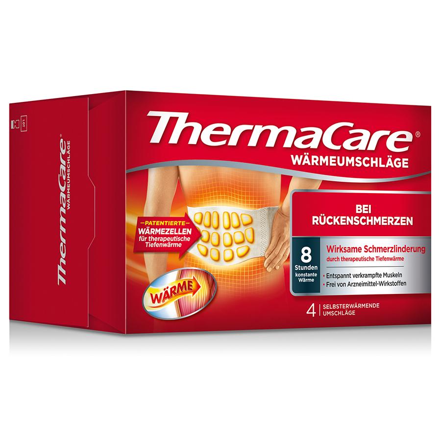 Thermacare Rueckenumschlag S-Xl 4 Stk