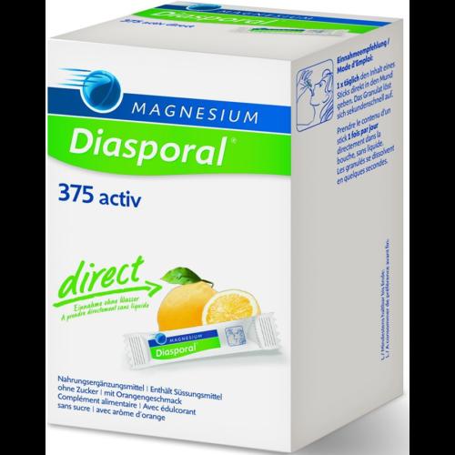 Magnesium Diasporal Activ Direct Zitrone 60 Stk