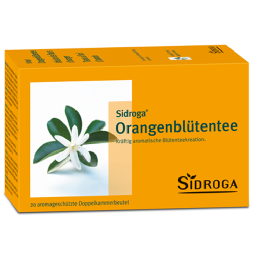 Sidroga Orangenbluetentee Btl 20 Stk