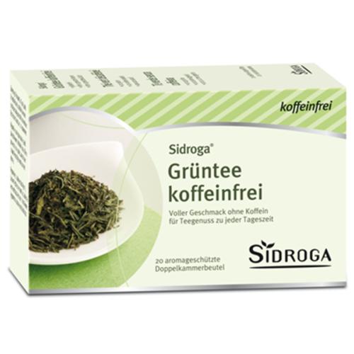 Sidroga Gruentee Koffeinfrei 20 Btl