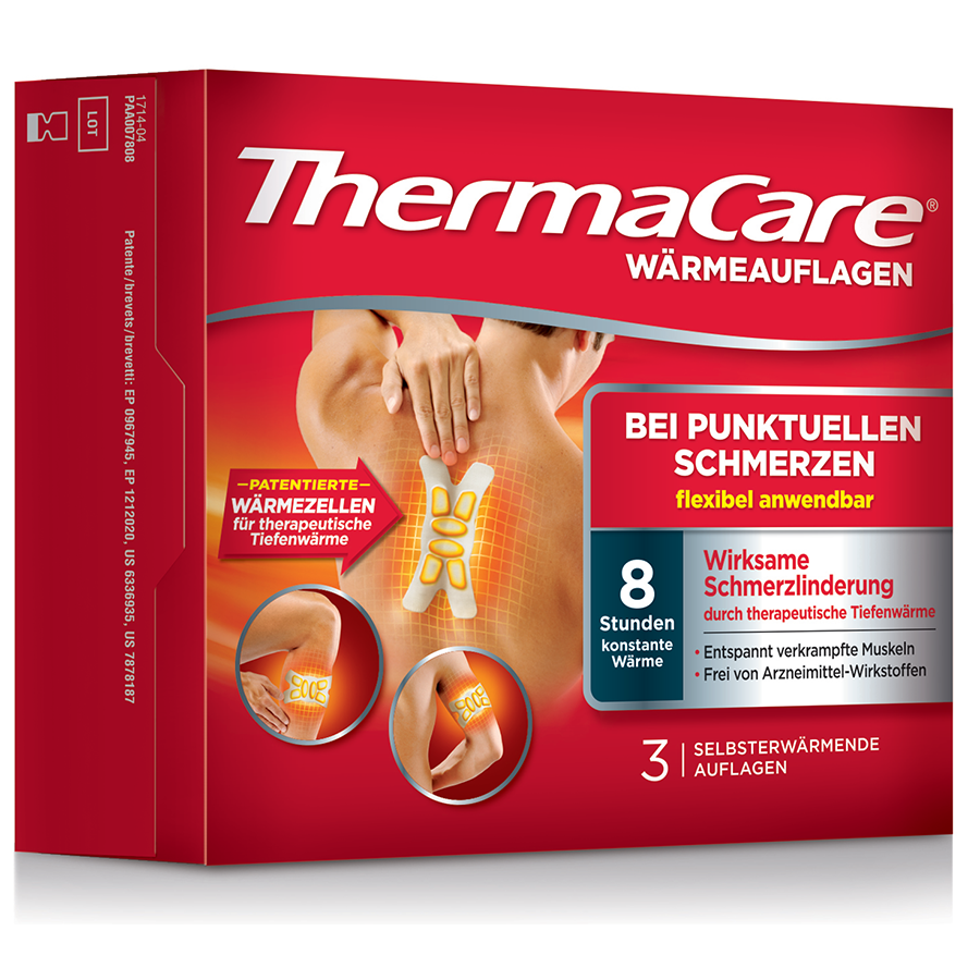 Thermacare Punktuelle Schmerzen 3 Stk