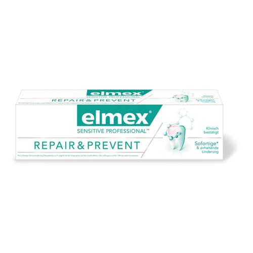 Elmex Sensitive Profess Repa und Preve Zahnpasta 75ml