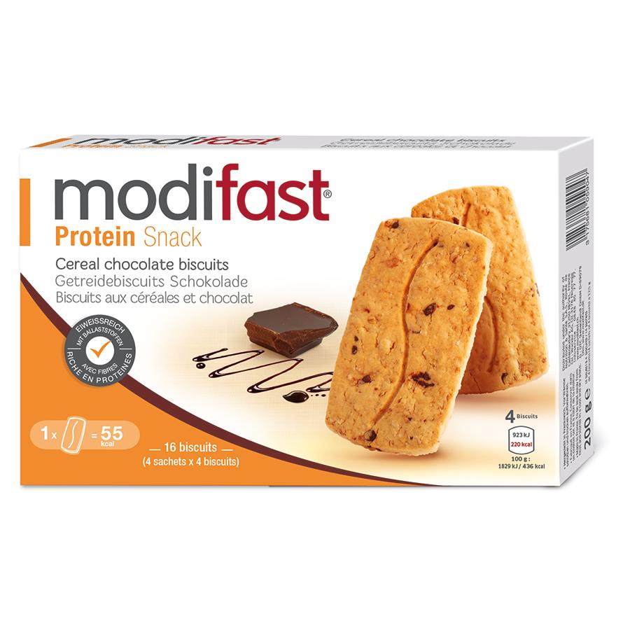 Modifast Protein Snack Getreidebi Schoko 4 X 4 Stk