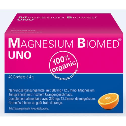 Magnesium Biomed Uno Gran Btl 40 Stk