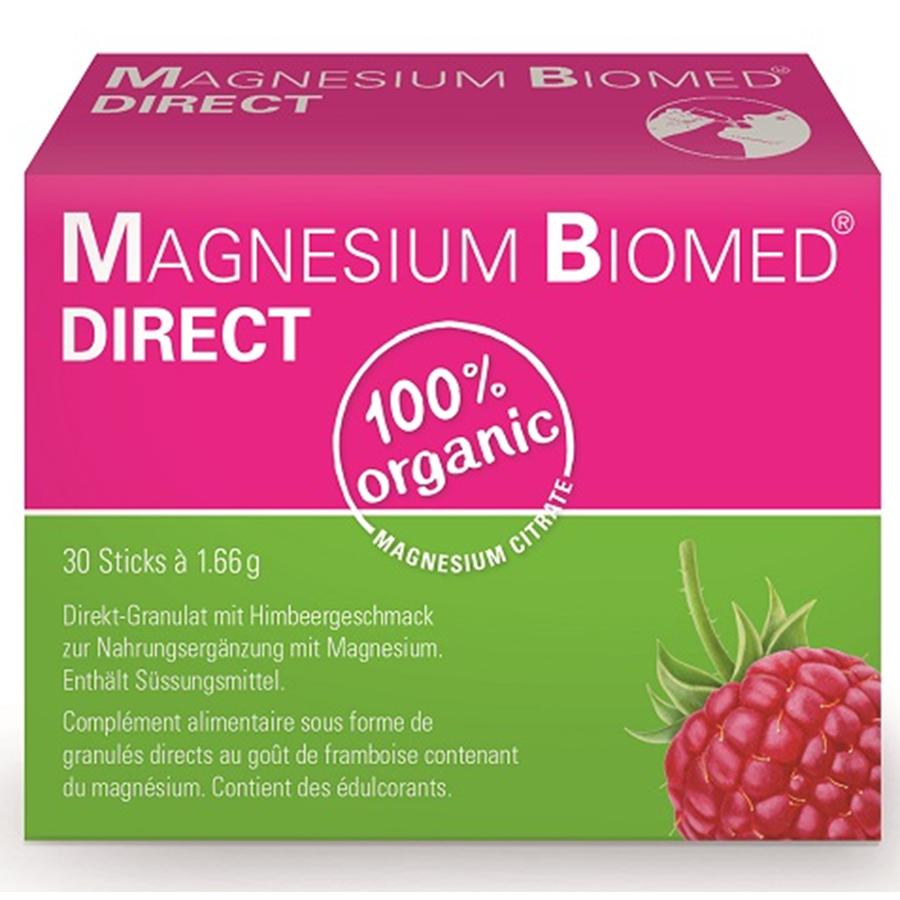 Magnesium Biomed direct Gran Stick 30 Stk