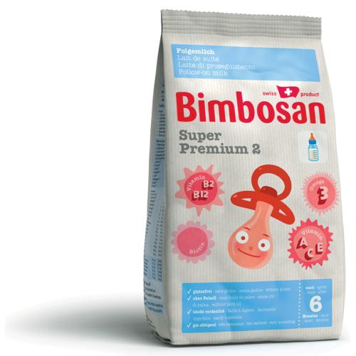 Bimbosan Super Premium 2 Folgemilch Ref Btl 400 G