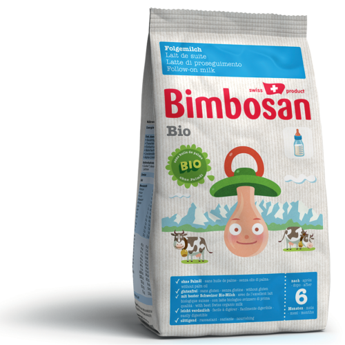 Bimbosan Bio Folgemilch Refill Btl 400 G