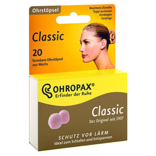 OHROPAX CLASSIC Wachskugeln 20 Stk