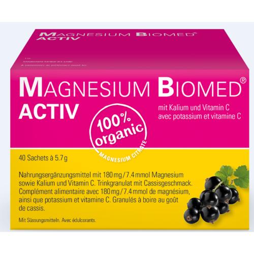 MAGNESIUM BIOMED Activ Gran Btl 40 Stk