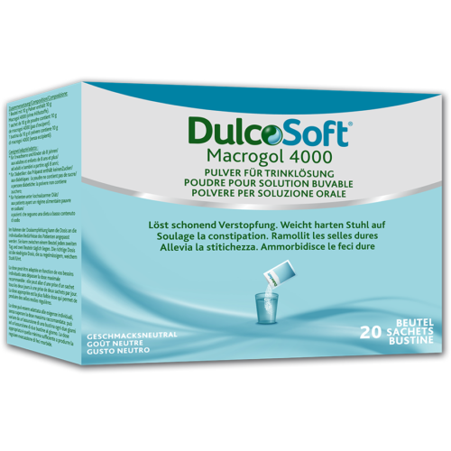 DULCOSOFT Plv für Trinklösung 20 Btl 10 g