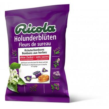 Ricola Holunderblüten Bonbons ohne Zucker mit Stevia