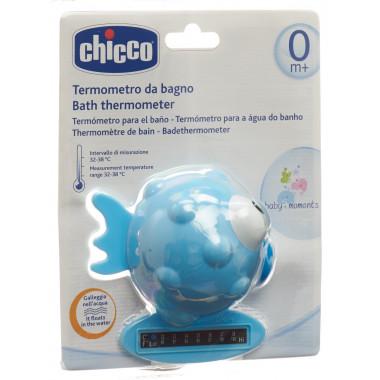 Chicco Badethermometer Globe Fish light blue 0m+