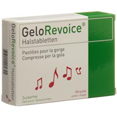 GeloRevoice Halstabletten Kirsche-Menthol
