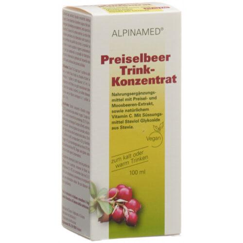 ALPINAMED Preiselbeer D-Mannose Trinkgranulat