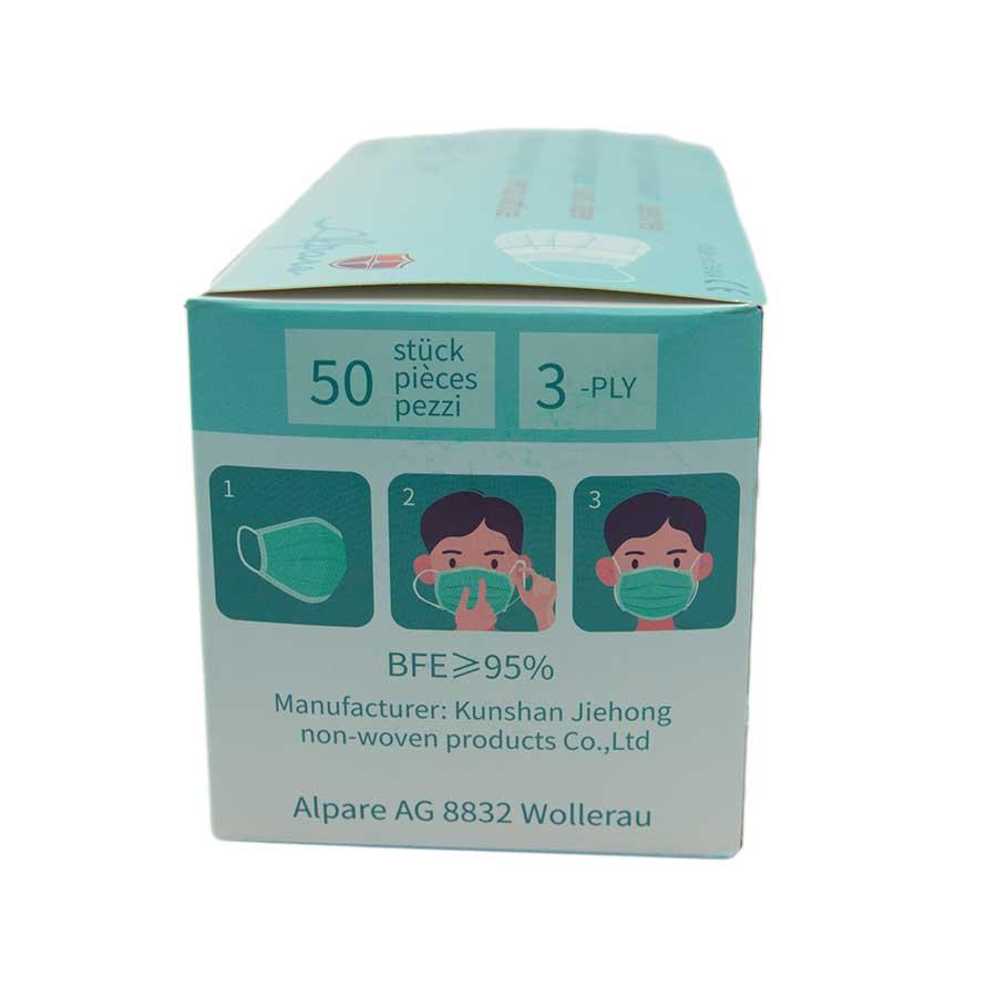 Atemschutzmasken 50 Stk. einzeln eingeschweisst