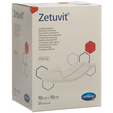Zetuvit Absorptionsverband 10x10cm steril