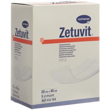 Zetuvit Absorptionsverband 20x40cm steril
