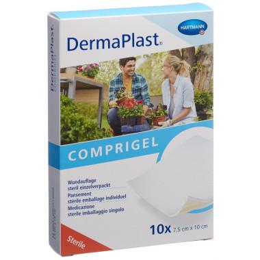 DermaPlast Comprigel Wundauflage 7.5x10cm steril