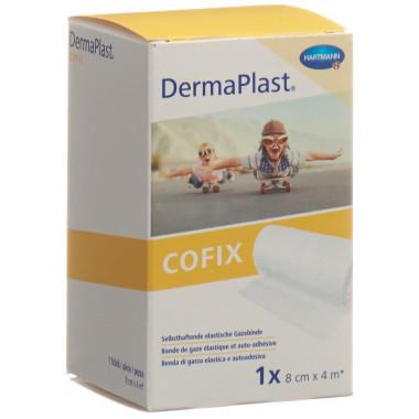 DermaPlast Cofix Gazebinde 8cmx4m weiss