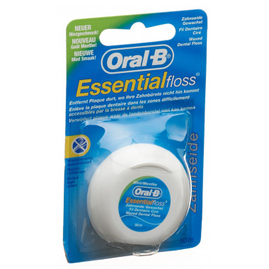 Oral-B Essentialfloss 50m Mint gewachst
