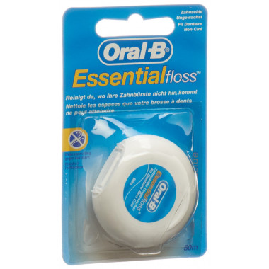 Oral-B Essentialfloss 50m ungewachst
