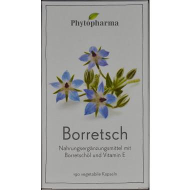 Phytopharma Borretsch Kapsel 500 mg