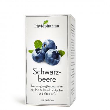 Phytopharma Schwarzbeere Tablette