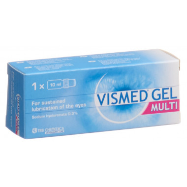 Vismed Gel 3 mg/ml Multi Hydrogel