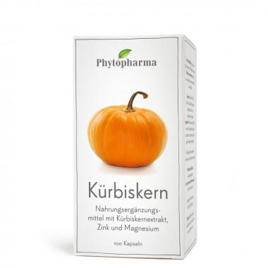 Phytopharma Kürbiskern Kapsel